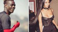 Mario Balotelli'den Kim Kardashian hakkında şok sözler: Estetik yaptırıp çirkinleşen tek kadın
