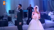 Caner ve Berke'nin düğününde şok görüntüler