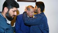 Dünyanın konuştuğu ikizlerin babası Cumhurbaşkanı Erdoğan'ı alnından öptü