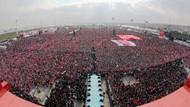 Erdoğan'ın sesinden Evet Klibi ilk kez Yenikapı'da yayınlandı