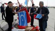 MHP'nin Yenikapı Mitinginde Türk ve Türkmen bayrakları
