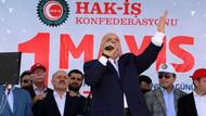 Erzurum'da ilk 1 Mayıs mitingi