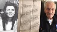 2. Dünya Savaşından kalma duygulandıran aşk mektubu