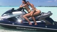 Kendall Jenner ve Bella Hadid'den sosyal medyayı sallayan jet-ski şov