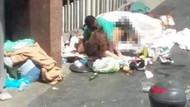 Turistlerin akın akın geldiği bölgede skandal! Çöplerin üzerinde seks...