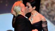 Cannes Film Festivali'ne Monica Bellucci dagmasını vurdu