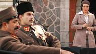 Tüyleri diken diken eden sahneleriyle Atatürk rolünü canlandıran oyuncular