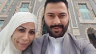 Esra Erol'da evlenen Caner ve Berke'den Umre fotoğrafları