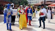 Kemer'de turistler için Aile Festivali