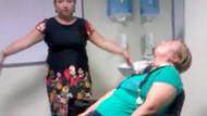 Rus Ludmila'dan özel hastanede büyü bozma seansı