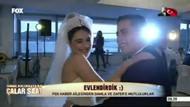 FOX Haber'de düğün sevinci: Damla Yıldız ve Zafer Söken evlendi