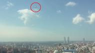 İstanbul Şişli'de tuhaf hareketlilik! Helikopter 1 saat aynı yerde tur attı