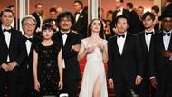 Cannes'a damga vuran protesto