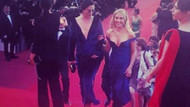 Meryem Uzerli Hollywood yıldızları ile kırmızı halıda