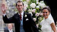 Kate Middleton'ın kız kardeşi Pippa Middleton'ın gösterişli düğünü