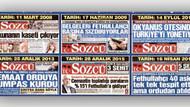 Sözcü: Bu manşetleri FETÖ'den korkmadan hanginiz attı?
