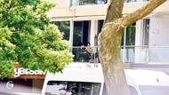 Deniz Çakır'ın Ekrem Yücelten'le balkon sefası
