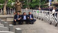 CHP'li vekiller oturma eylemine başladı