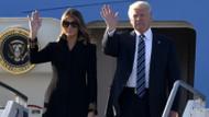Melania Trump yine Donald Trump'ın elini tutmadı