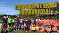 Esra Erol, ekibi için Survivor yarışması organize etti