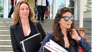 Demet Şener, boşanma davası için Antalya'da