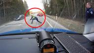 Alkollü Sürücü durmayınca bakın polis ne yaptı?