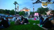 30 bin kişi ilk iftarını Sultanahmet'te açtı