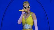 Katy Perry'den olay frikik