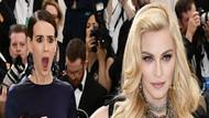 Sarah Paulson'dan Madonna'ya hayran bakış