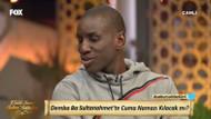 Beşiktaşlı Demba Ba, Fox TV'de sahur programına katıldı