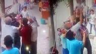 Balkondan düşen bebeği havada yakaladılar