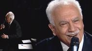 Doğu Perinçek türkü söylerken Haberturk TV yayını kesti