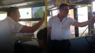 İETT şoförü otobüsü durdurup kadın yolcuların üzerine yürüdü!