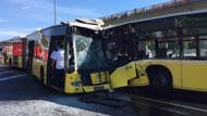 Son Dakika... Metrobüsler çarpıştı: Yaralılar var