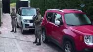 Ozan Tufan'ın da gözaltına alındığı lüks araç operasyonu kamerada