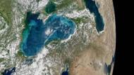 Karadeniz ve İstanbul boğazının turkuaz rengi uzaydan böyle görüntülendi