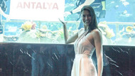 Adriana Lima Antalya'da ziyafet çekti