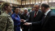 Jandarmadan Cumhurbaşkanı Erdoğan'a sürpriz