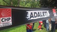 CHP'liler Maçka Parkı'nda Adalet Nöbetine başladı