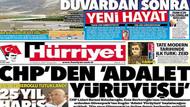 Enis Berberoğlu'na 25 yıl hapis cezasını gazeteler nasıl gördü