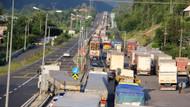 Bolu Dağı'nda trafik durma noktasına geldi