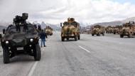 Askeri konvoyda kaza: 1 asker yaralı