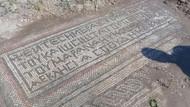 Adıyaman'da Tarlasını Süren Mozaik Buluyor! Bir Çiftçi 1.500 Yıllık Tarihi