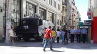 Onur Yürüyüşü öncesi Taksim'de polis ablukası