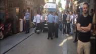 Fatih'te 4 katlı binanın çatı katı çöktü: 1 kadın öldü