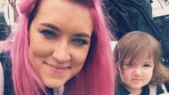 Pembe saçlı dövmeli anneden eleştirilere olay yanıt