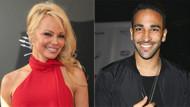 Pamela Anderson'la yakalandı