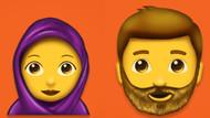 Başörtülü kadın ve sakallı erkek emojileri çok yakında telefonlarda