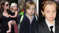 Brad Pitt ve Angelina Jolie'nin kızı Shiloh cinsiyet değiştiriyor