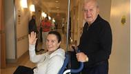 Hülya Koçyiğit'ten ameliyat sonrası ilk fotoğraf